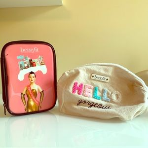 Set of Benefit Cosmetic Bags
